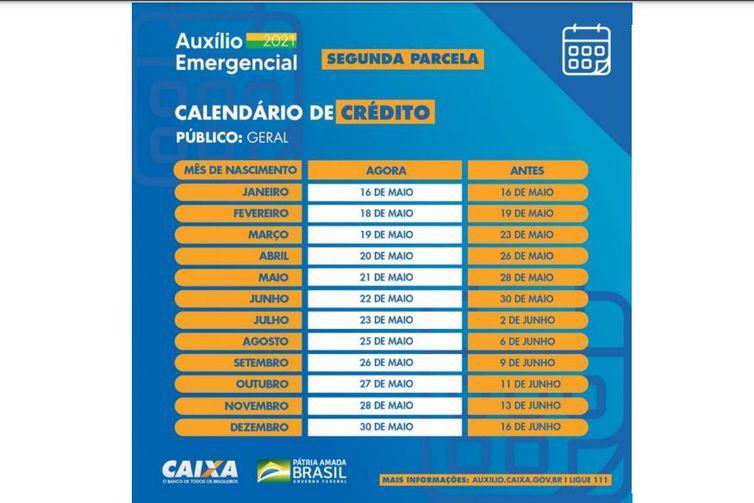 001_14 Caixa anuncia antecipação de 2ª parcela do auxílio emergencial; veja calendário