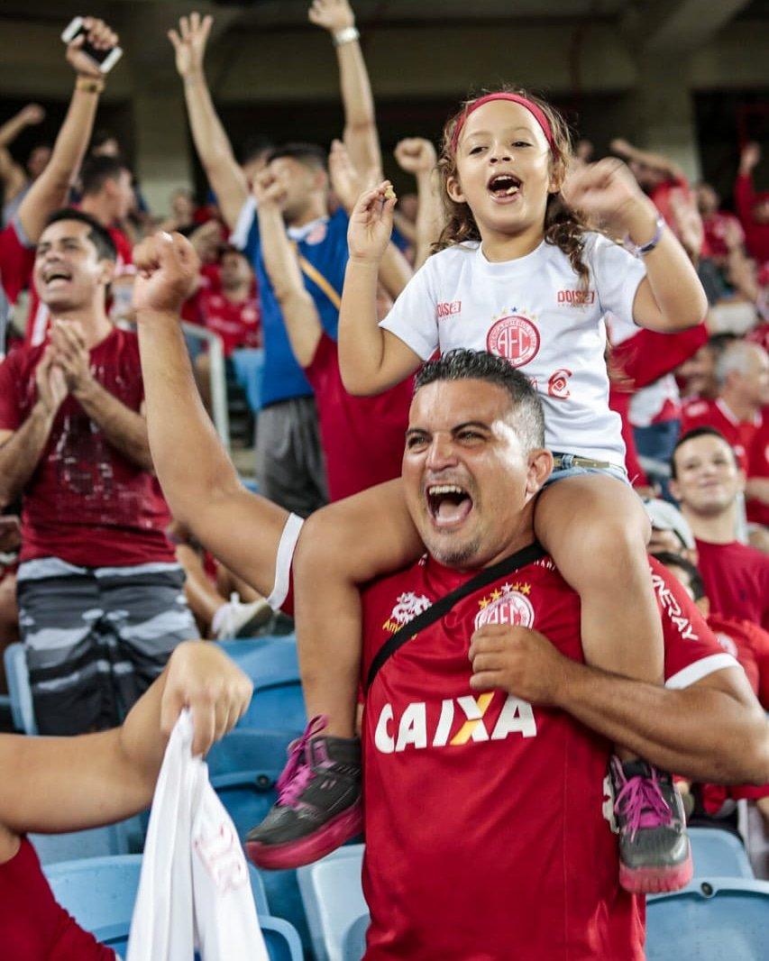 América massacra Serrano na Arena das Dunas: 8 a 0