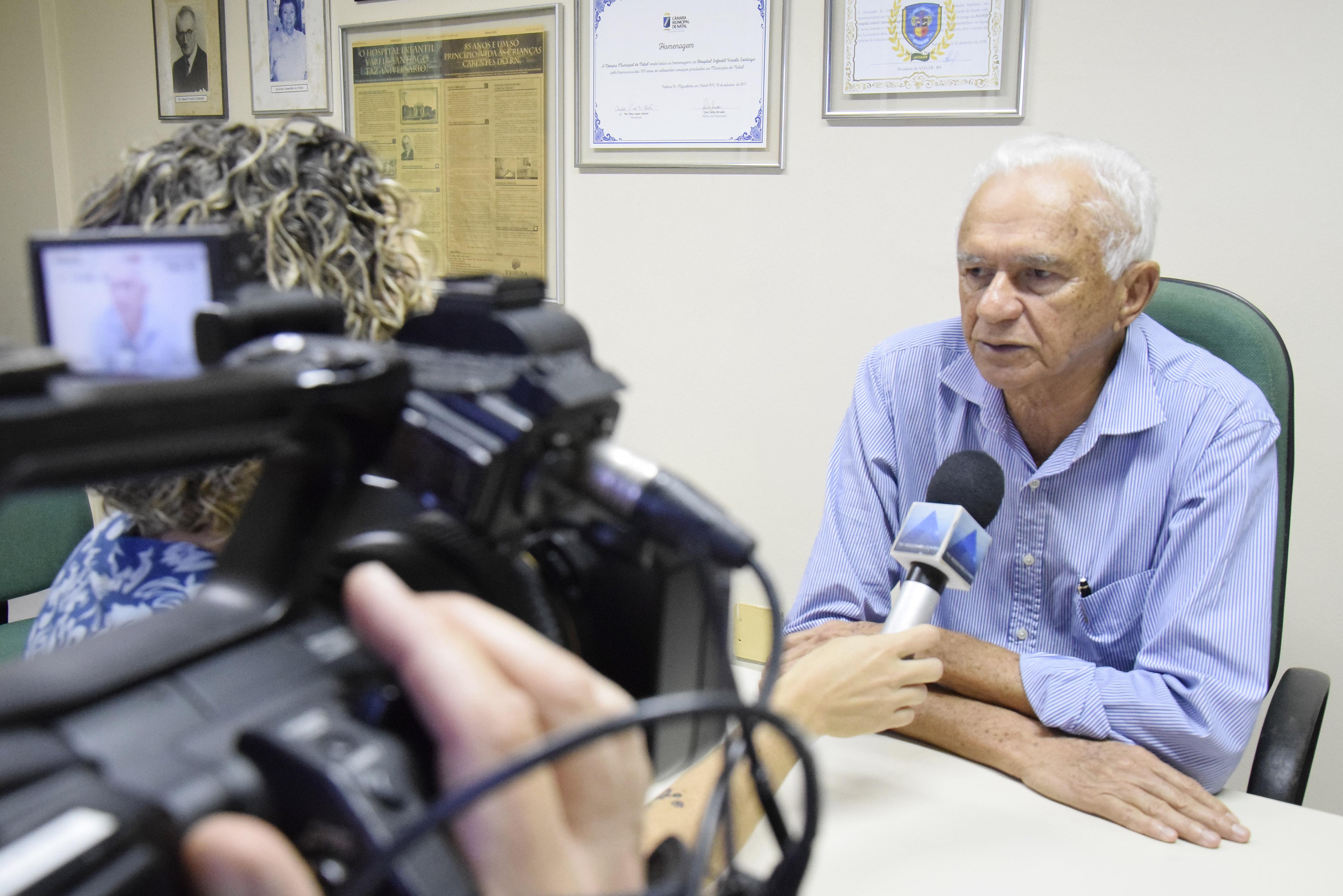 Diretor do Varela Santiago diz que espera falar com governadora desde janeiro