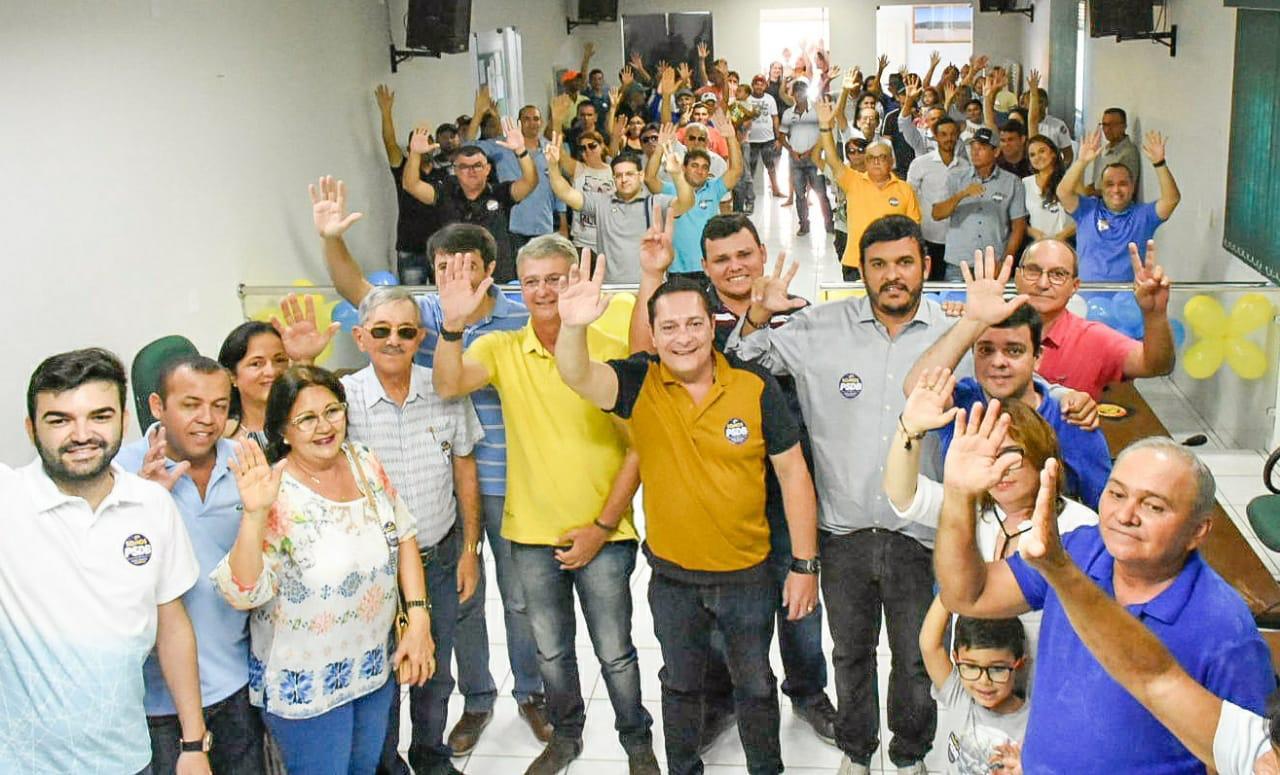PSDB ganha mais um vice-prefeito e Ezequiel anuncia que fará encontros regionais