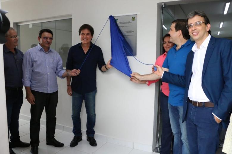 Governo Fátima marca inauguração de obra já inaugurada por Robinson