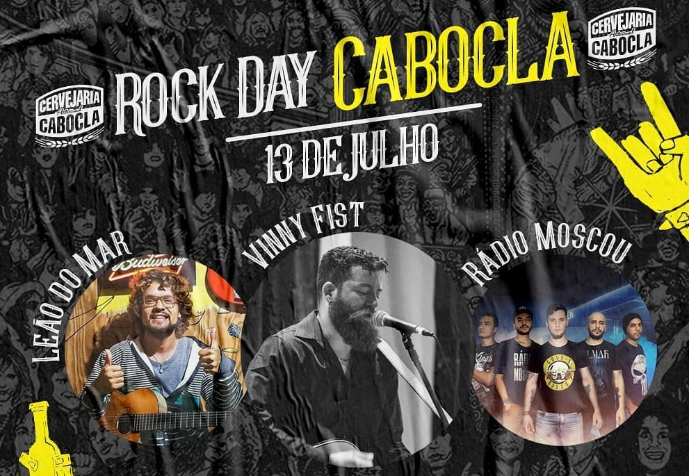 Cervejaria Cabocla realiza Rock Day neste sábado