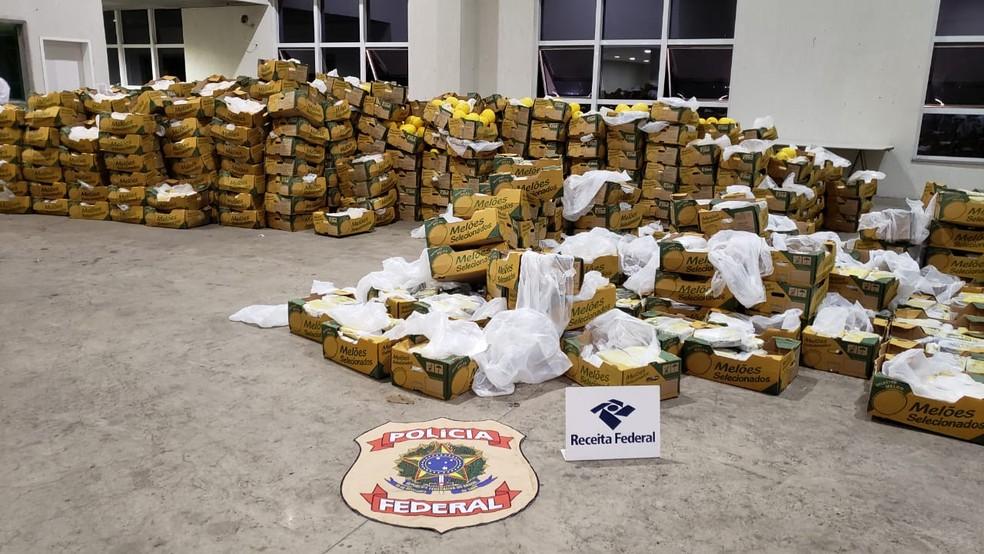 Apreensões de cocaína no RN chegam ao topo da exportação: R$ 600 milhões
