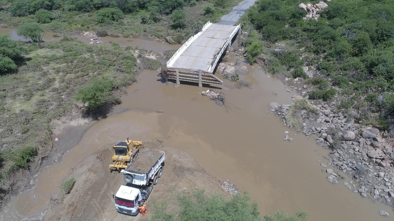 Governo Bolsonaro libera R$ 414 mil para recuperar barragem destruída no RN