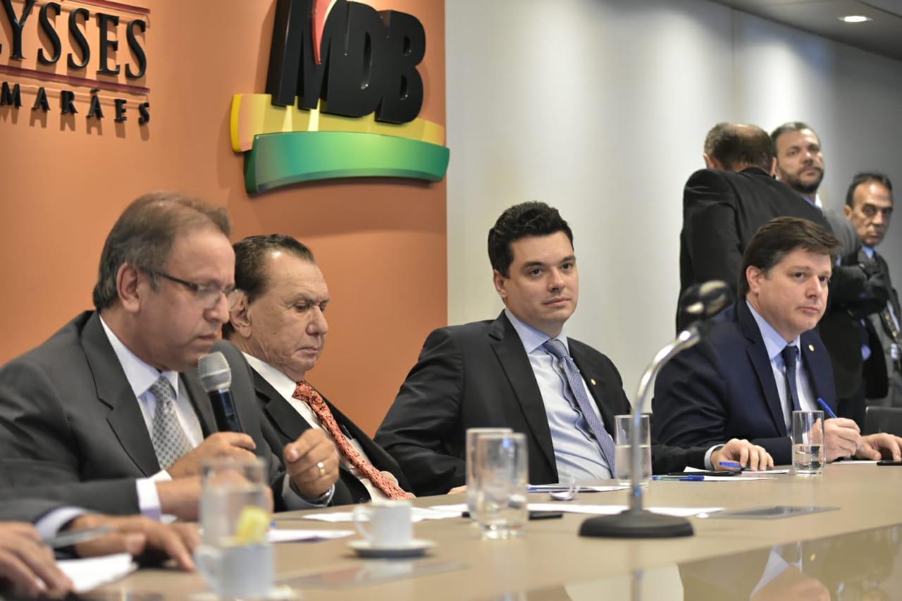 Em Brasília, Walter Alves participa de reunião com presidentes estaduais do MDB
