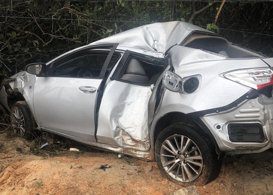 Ex-deputado sofre acidente na Via Costeira e está internado na UTI