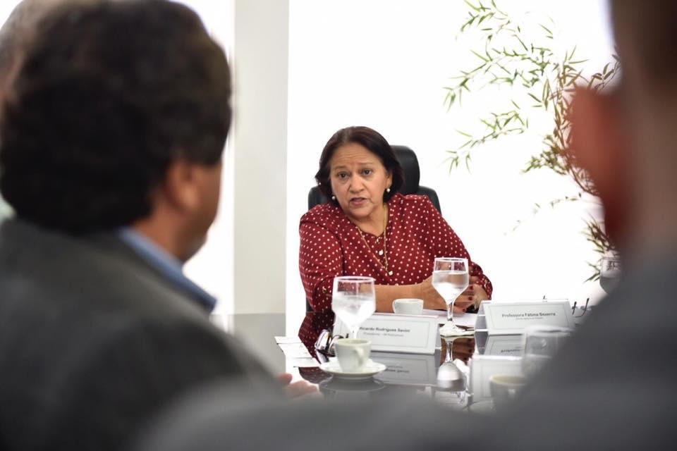 Fátima diz que equipe já faz estudos para reforma da Previdência estadual