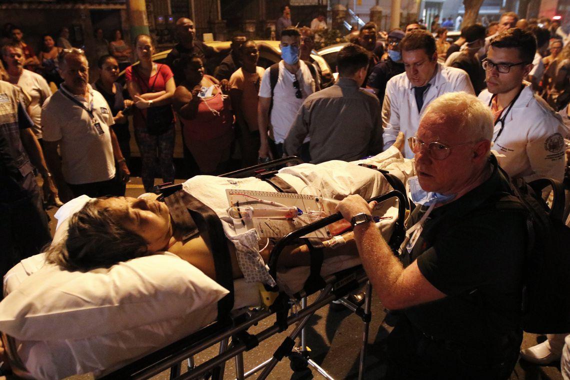 Já são 11 mortes confirmadas após incêndio em hospital do RJ