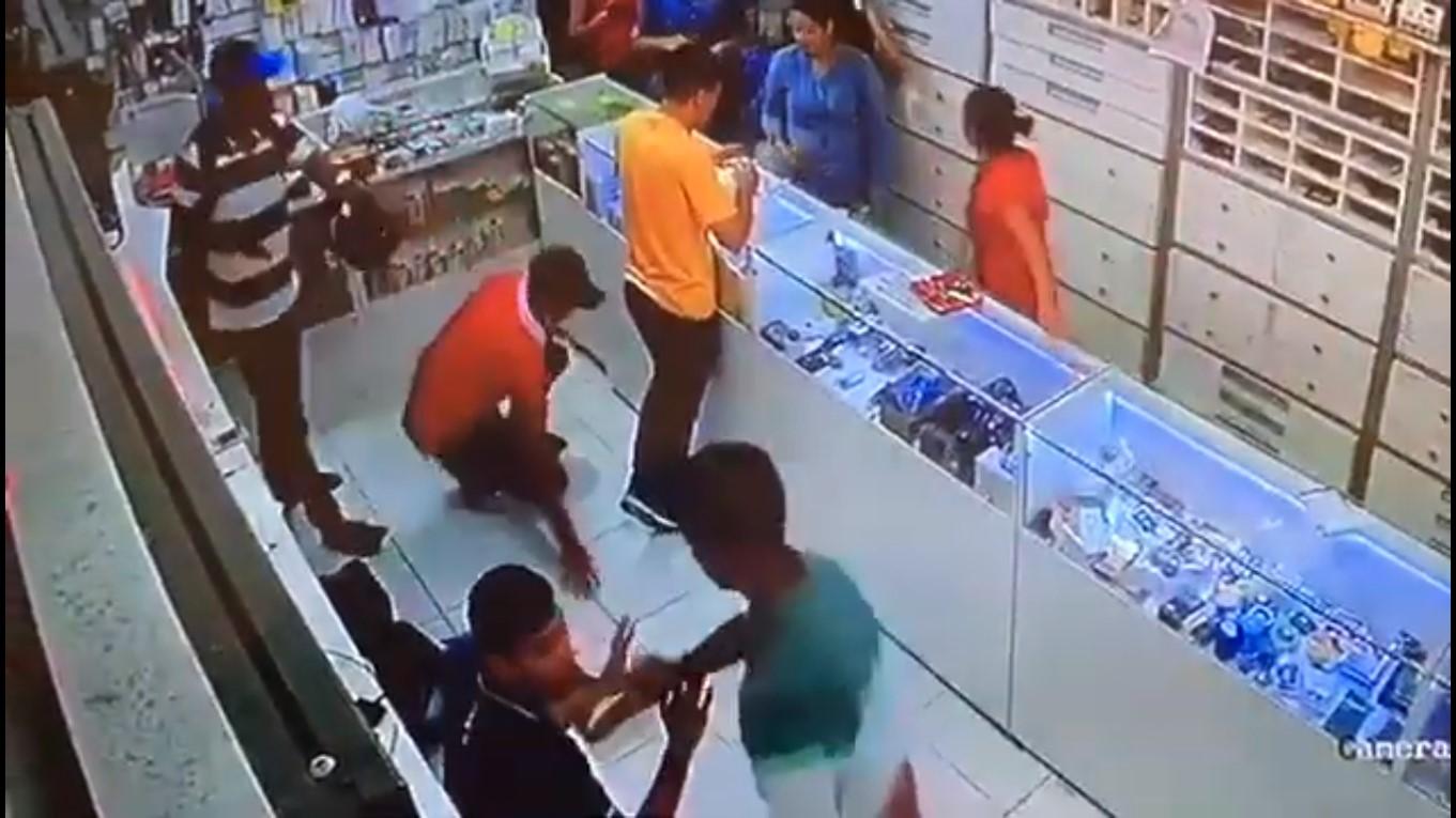 Câmeras flagram assalto que resultou na morte de filho de comerciante no Alecrim