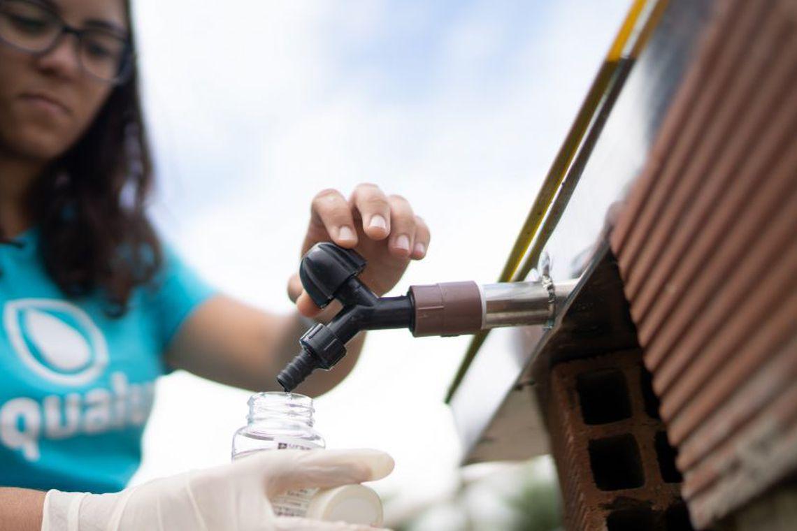 Com projeto para filtrar água, brasileira é 1ª a ganhar prêmio da ONU
