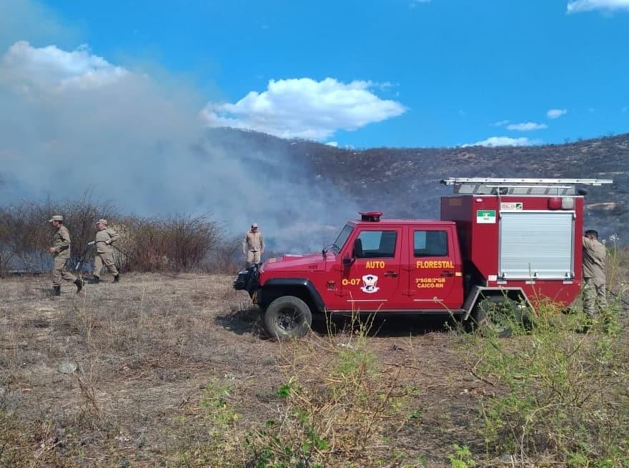 Incêndio de grandes proporções atinge mais um município do RN