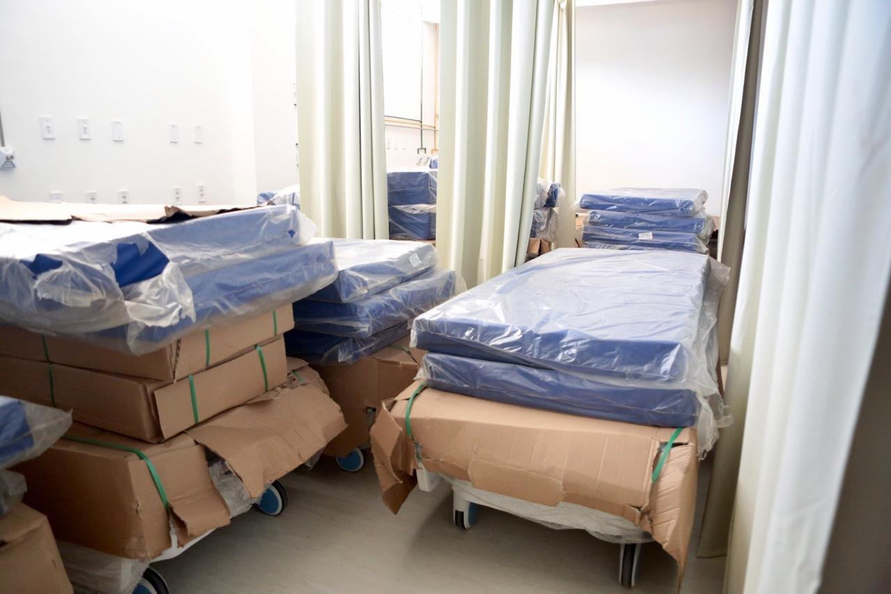 Segundo maior hospital do RN tem 20 leitos de UTI inativos por falha em projeto