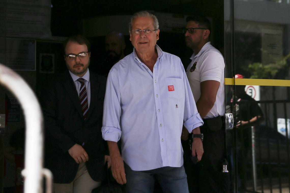 Condenado de novo, Dirceu pagará multa de R$ 4,5 milhões por danos à Petrobras