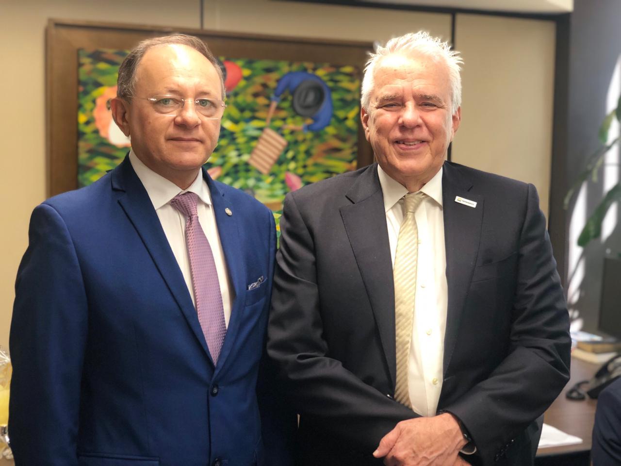 Presidente da Petrobras garante que estatal não sairá do RN, diz deputado
