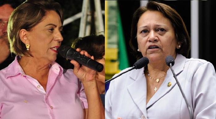 """Fátima diz que Rosalba comete """"desonestidade pública"""" em polêmica sobre Proedi"""