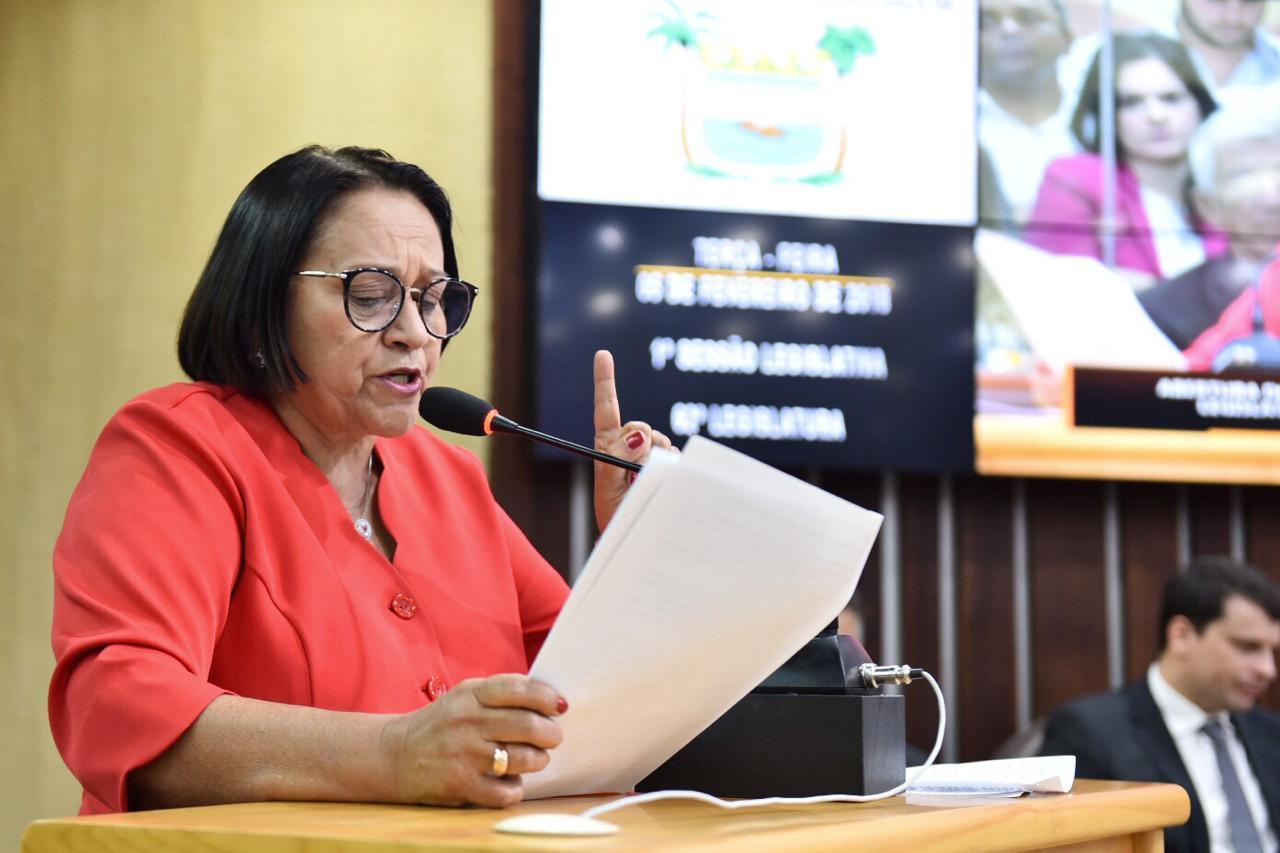 Governo Fátima encaminhará à AL projetos de lei anticorrupção nesta terça