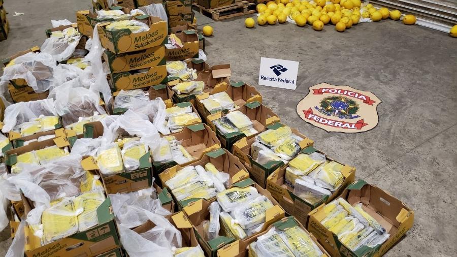 Mais 550 quilos de cocaína são apreendidos na Holanda exportados pelo RN