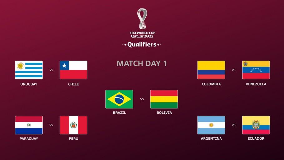 Adversários do Brasil nas Eliminatórias para a Copa são definidos; confira