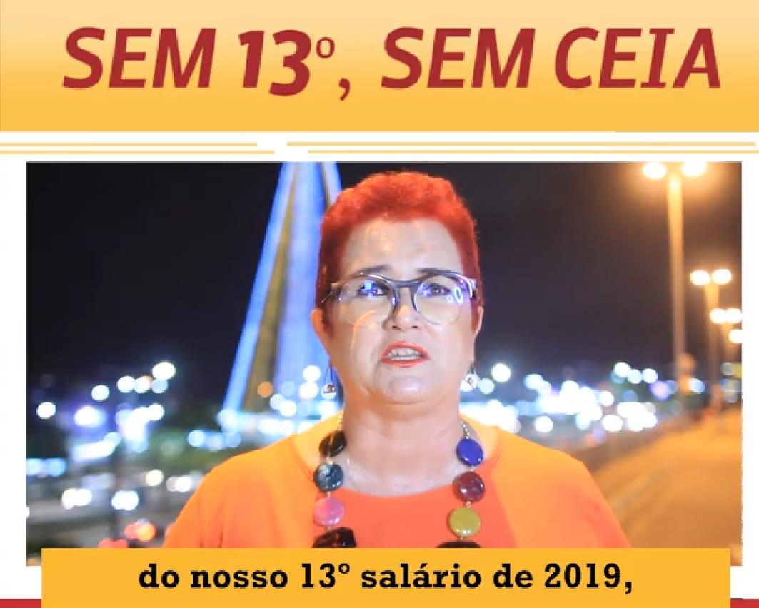 Sem 13º, Governo Fátima deixa mesa dos servidores vazia, diz Sinsp-RN