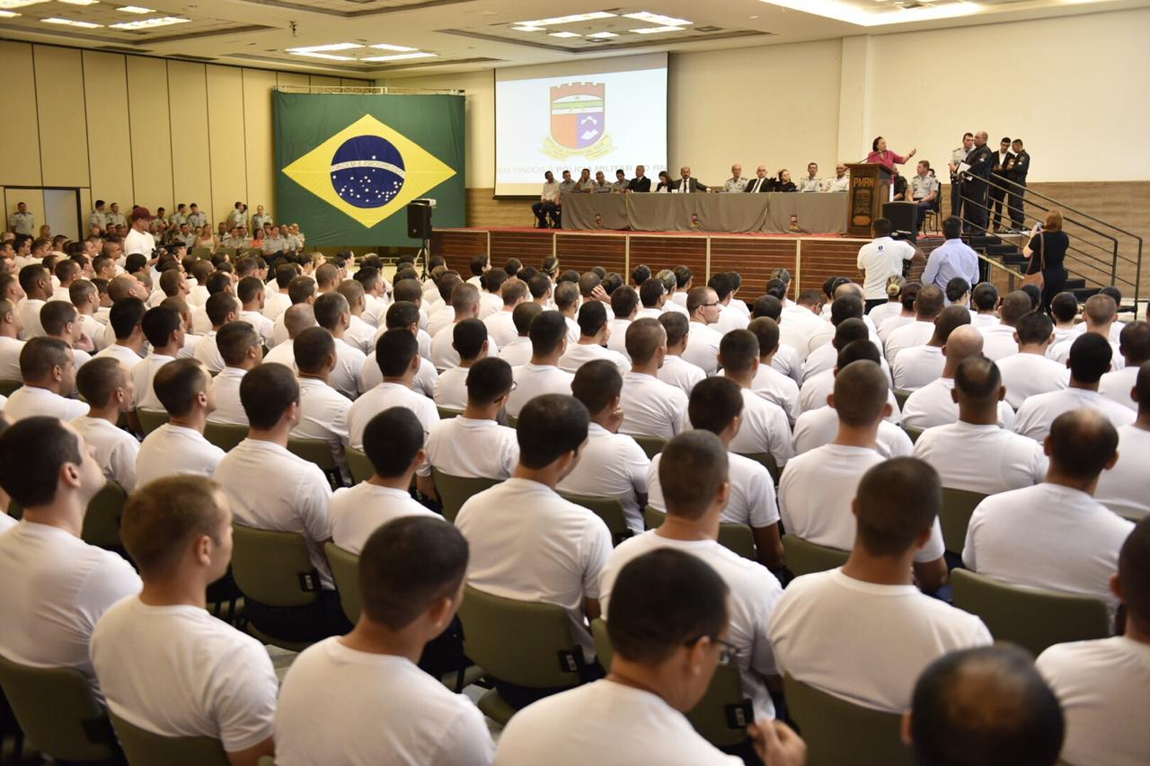 Governo do RN inicia curso para formar novos praças da Polícia Militar