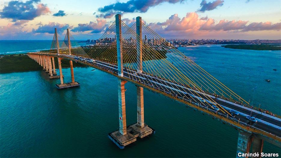 Governo do RN perde recursos para proteção da ponte Newton Navarro, diz deputado