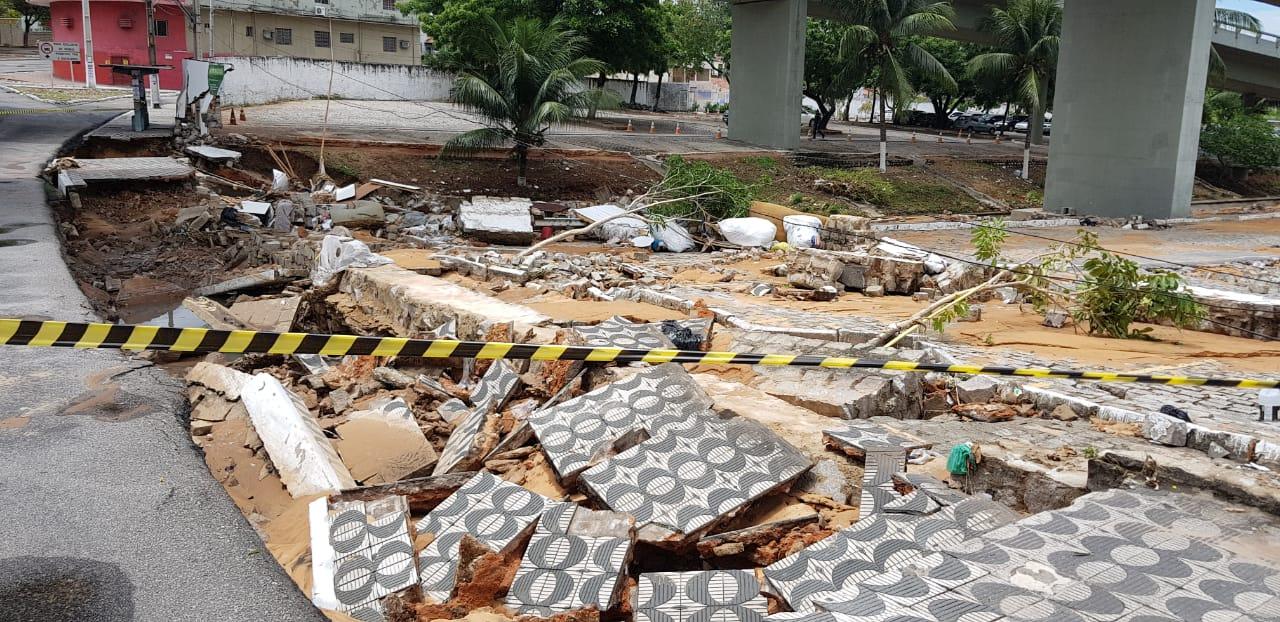 Prefeito de Natal decreta estado de alerta na cidade devido às chuvas