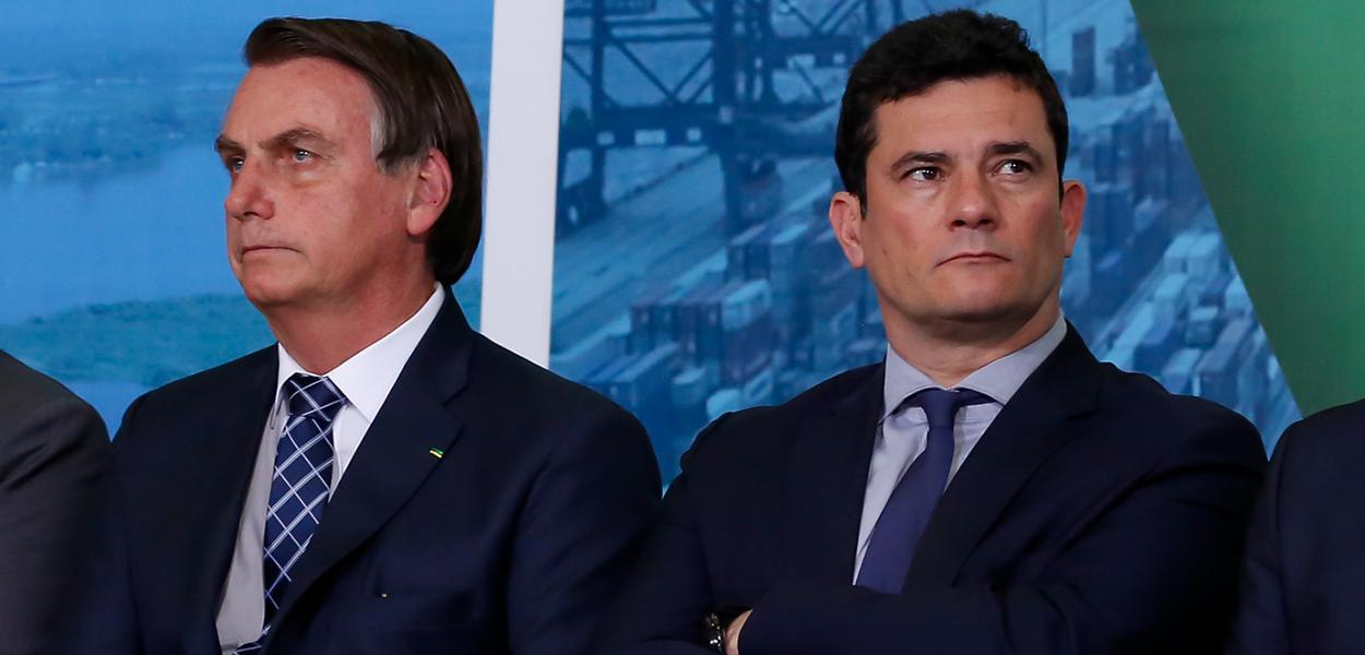 Bolsonaro descarta desmembrar ministério comandado por Moro