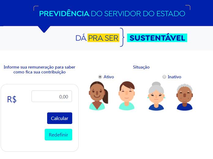 Governo Fátima tem calculadora que simula impacto da reforma para o servidor