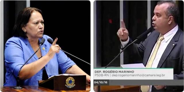 """Fátima parabeniza Rogério: """"Com um potiguar no Ministério avançaremos mais"""""""