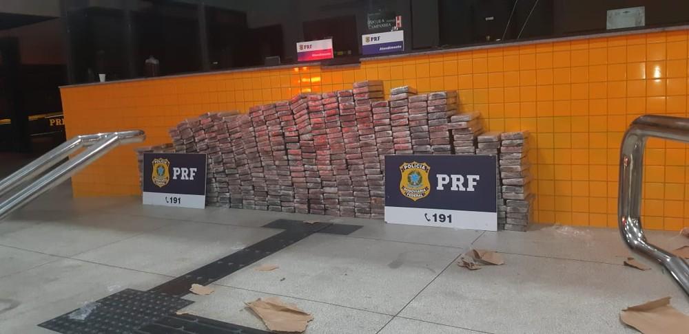 PRF apreende mais de meia tonelada de cocaína que seria levada para PB e RN