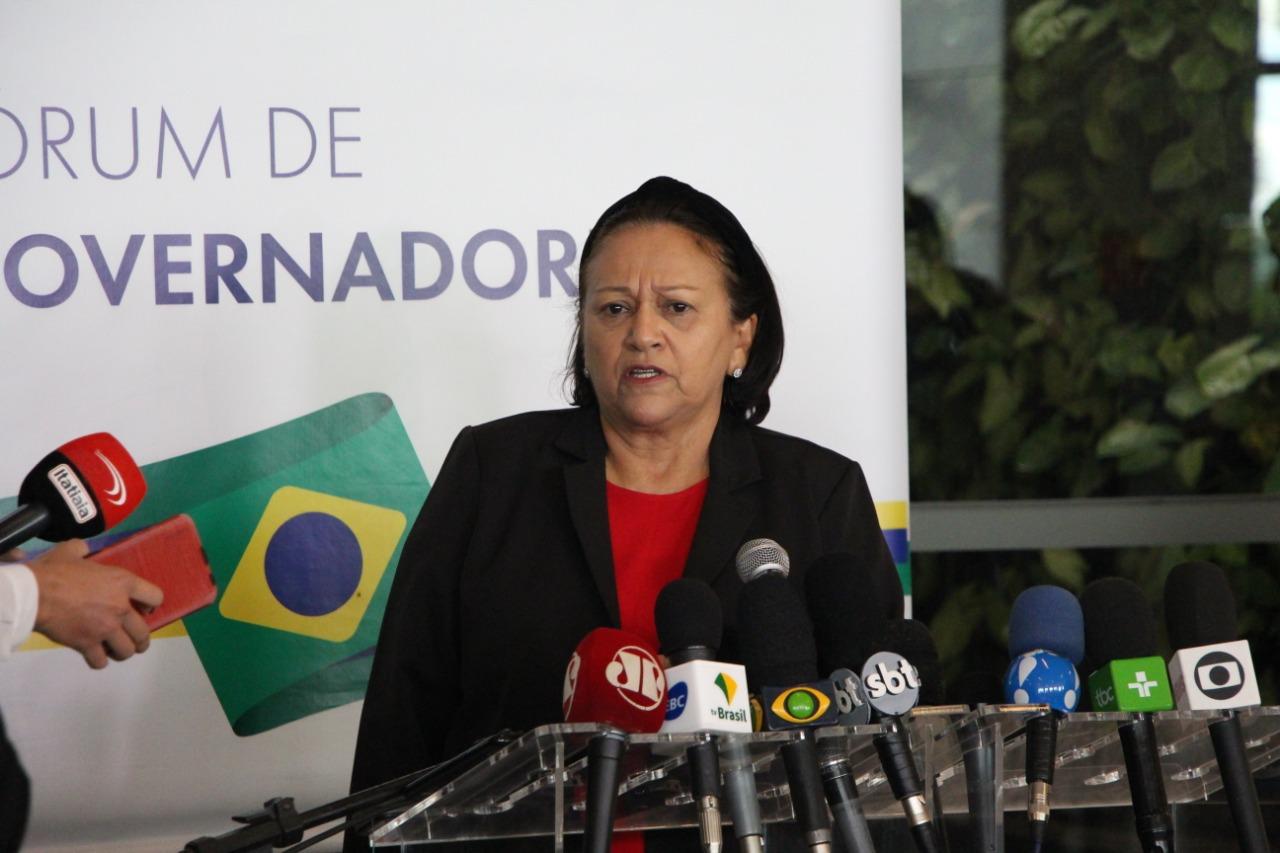 Governadores acatam proposta de Fátima e pedem urgência para novo Fundeb