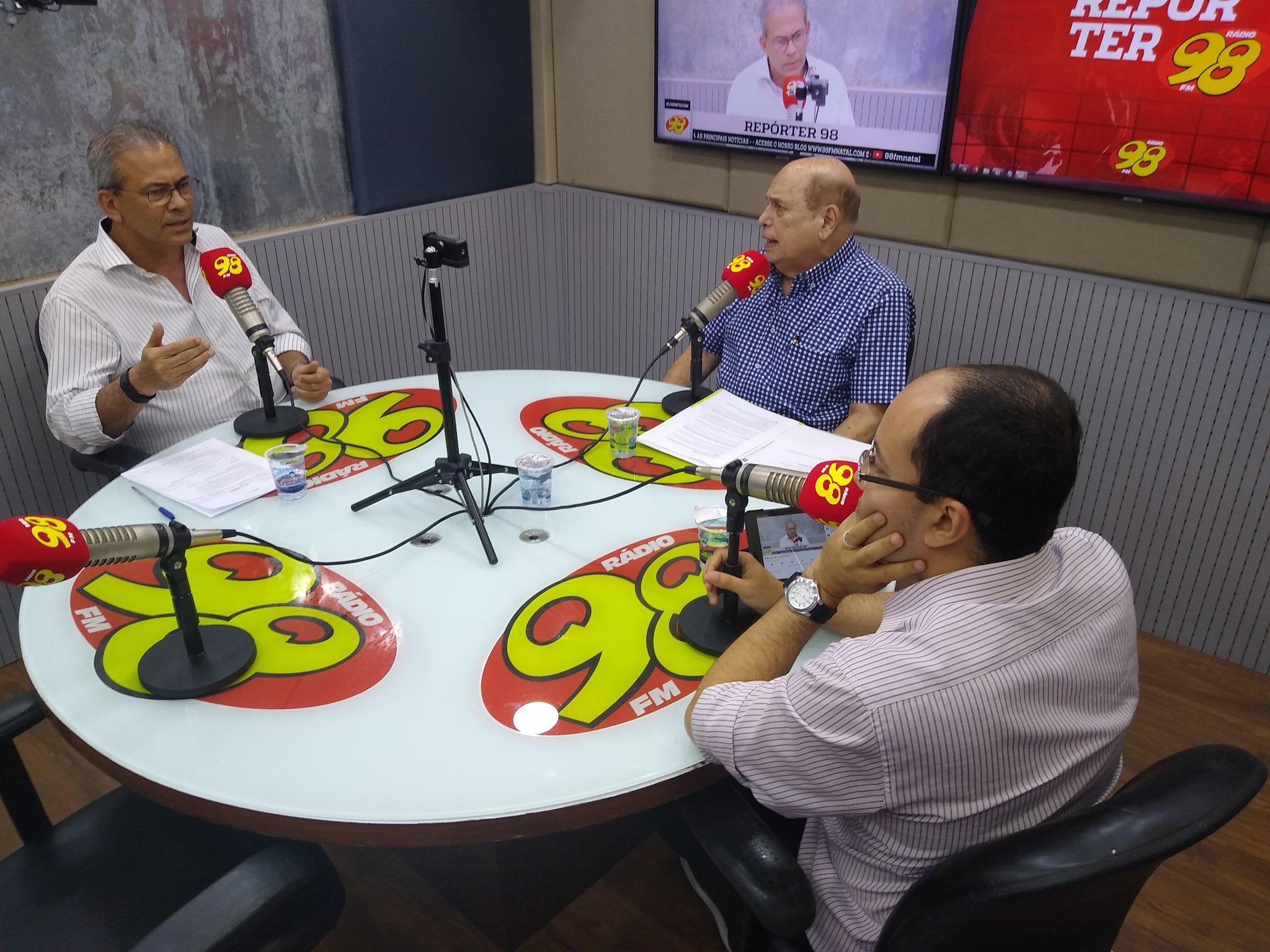 """Hermano Morais diz que gestão de Álvaro Dias é um """"retrocesso"""" para Natal"""