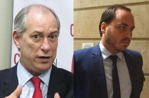 "Ciro Gomes chama Carlos Bolsonaro de ""libélula deslumbrada"""