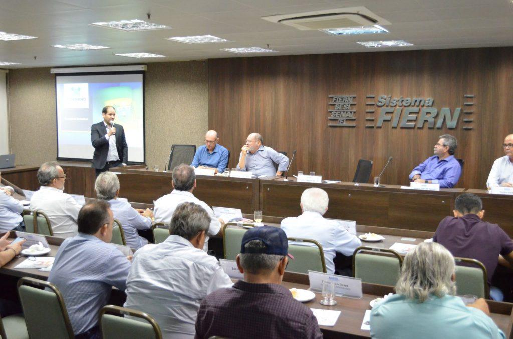 Proposta da nova Previdência estadual é apresentada a diretoria da FIERN