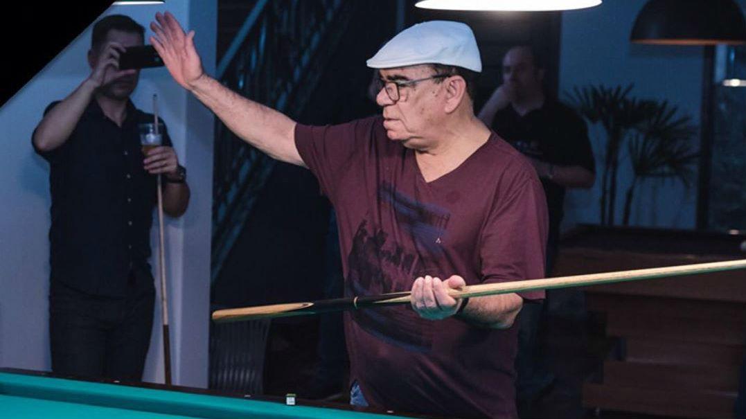 Jogador considerado lenda da sinuca brasileira morre aos 79 anos