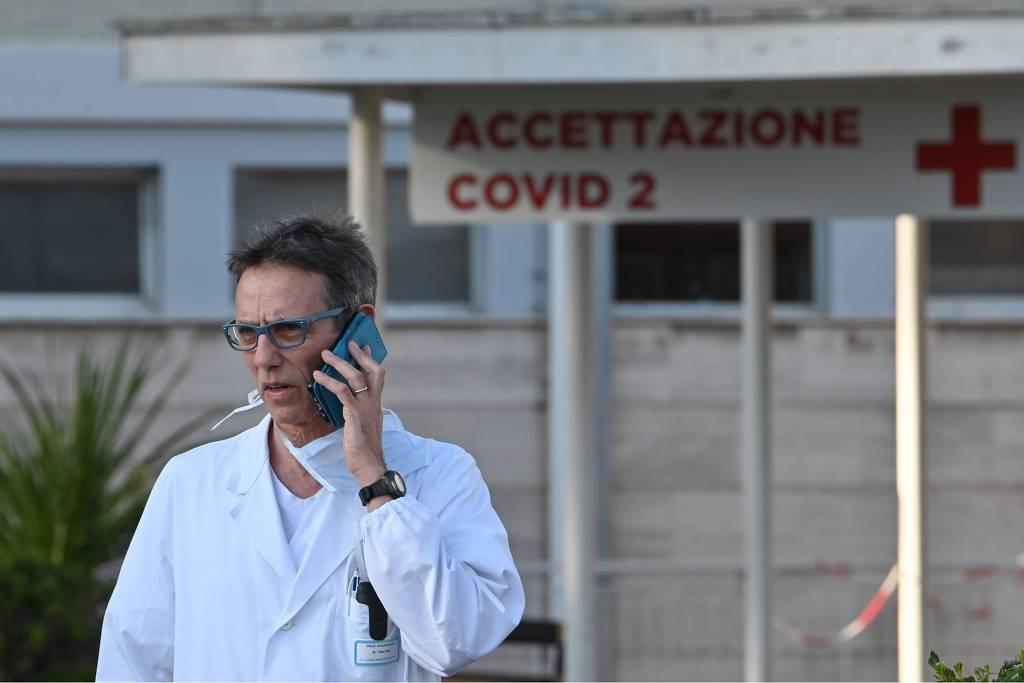 Covid-19: Itália tem recorde de mortes em um dia e fila de caixões em cemitérios